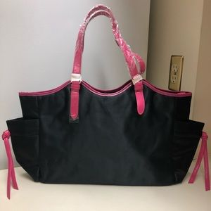Wacoal Black & Pink tote bag. New never used